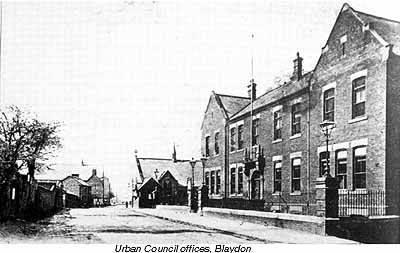 Urban Council offices, Blaydon